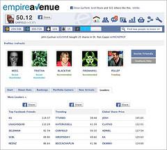 Empire Avenue on Facebook