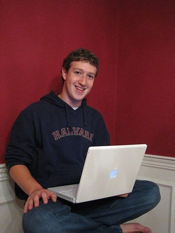 Mark Zuckerberg, founder and CEO of Facebook